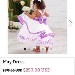 Itty bitty toes dress
